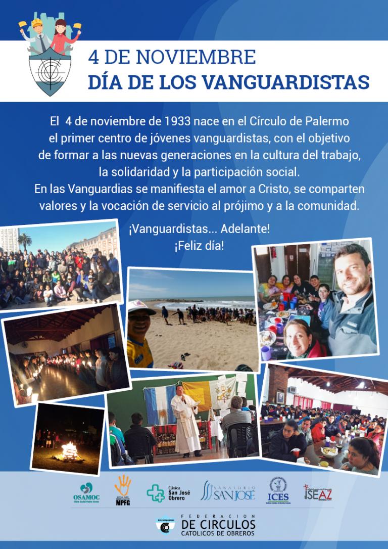 4 de Nov - Día de los Vanguardistas